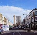 Trellick Tower From Golborne Road, North Kensington in London.jpg