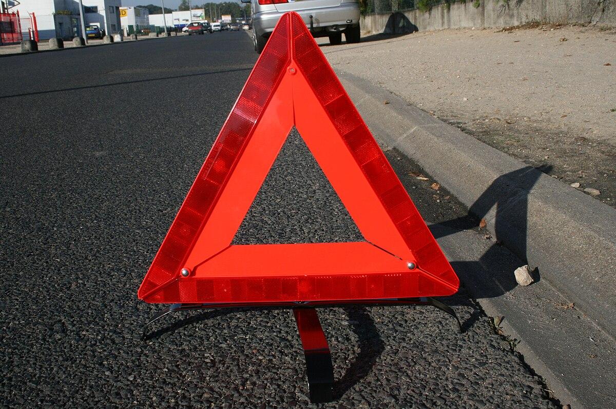 warning triangle - Wiktionary
