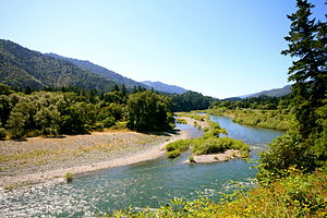 Trinity River (California) - Trinity River near Hoopa