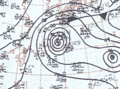 Tropical Storm Helen September 23, 1966 surface analysis.png