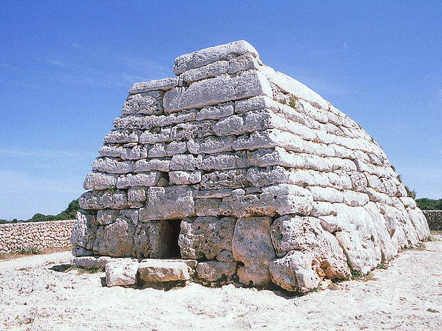 One of the megalithic funerary tombs at Es Tudons.