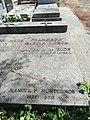 Tumba de Francisco García Lorca y Laura de los Ríos, cementerio civil de Madrid.jpg