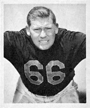 Bulldog Turner - Turner's 1948 Bowman Gum football card