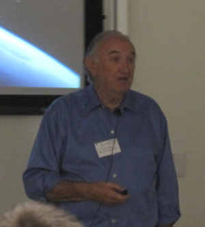 Bob Twiggs - Bob Twiggs at the 2009 Summer CubeSat Developers' Workshop in Logan, Utah, United States