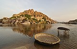 Two Coracles and Tungabhadra River.jpg