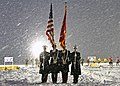 U.S. Marines, assigned to Recruiting Station Lansing, Recruiting Sub-Stations Grand Rapids North and South, participate in the opening ceremony for the Grand Rapids Pond Hockey Classic.jpg