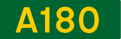 A180 road shield