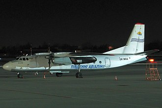 South Airlines Flight 8971 - UR-WRA, the aircraft involved, photographed a month before the accident