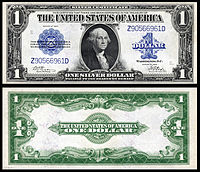 $1 Silver Certificate, Series 1923, Fr.239, depicting George Washington