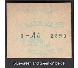 USA NCR meter stamp b-g g on beige.jpg