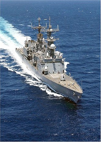 USS Deyo - USS Deyo operating in support of Operation Iraqi Freedom on 29 March 2003.