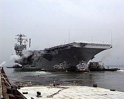 USS Dwight D. Eisenhower (CVN-69) RF