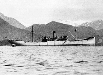 Q-ship - USS Gold Star (AG-12), at anchor off Sitka, Alaska, in September 1922, before her partial conversion into a communication intelligence ship in 1933