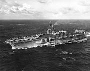 USS Ranger (CVA-61) at sea on 26 August 1961 (NH 97686)