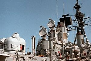 AN/SPG-51 - Image: USS Richard E Byrd (DDG 23) aft