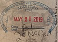 US Entry stamp at Toronto-Lester B. Pearson International Airport.jpg