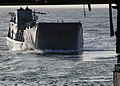 US Navy 070423-N-1786N-017 Landing Craft Unit 1617 maneuvers its way into the well deck of the amphibious assault ship USS Tarawa (LHA 1) during training exercises off the coast of California.jpg