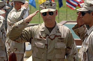 Mark H. Buzby - Buzby taking command of JTF-GTMO in May 2007.