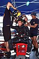 US Navy 080722-N-3446M-025 Navy Diver 2nd Class Christopher Peek, assigned to Mobile Diving and Salvage Unit (MDSU) 1 and members of the Indonesian navy dive team help Senior Chief Navy Diver Paul Adams don his head gear before.jpg