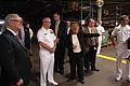 US Navy 090916-N-7975R-030 Rear Adm. Scott Weikert tours the Caterpillar plant in York, Pa.jpg