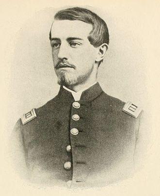 Ulric Dahlgren - Col. Ulric Dahlgren (seen here as a captain)