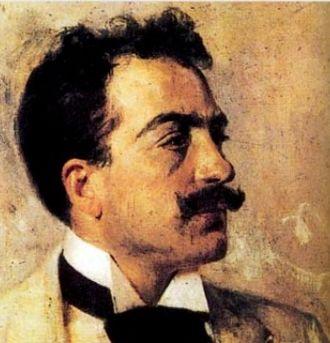 La cena delle beffe - The opera's composer, Umberto Giordano