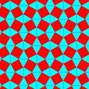 Snub square tiling - Image: Uniform tiling 44 h 01