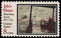 United States postage stamp honoring John Sloan (1971).jpg