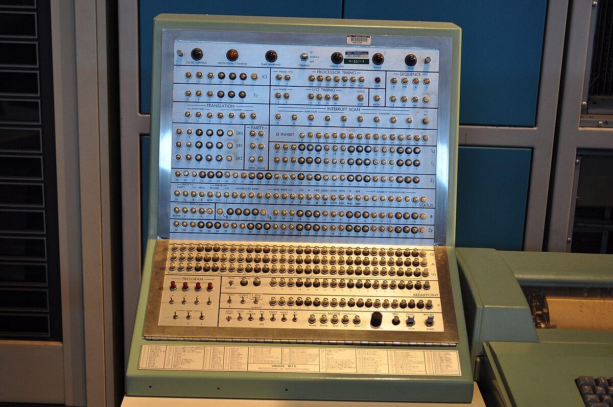 Univac Computer UNIVAC 490 - Wi...