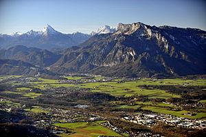 Grödig - Salzburg basin and Untersberg