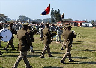 Bands of the South African National Defence Force