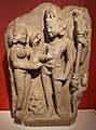 Uttar pradesh, matrimonio di shiva e parvati (kalyanasundara) alla presenza di brahma e vishnu, x-xi secolo.jpg