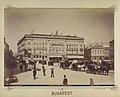 Vörösmarty (Gizella) tér, szemben a Pesti Magyar Kereskedelmi Bank székháza (Gerbeaud-ház). - Budapest, Fortepan 82342.jpg