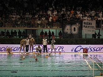 Igor Milanović - Image: VK Partizan Eurolegue Final Four Rome 2011
