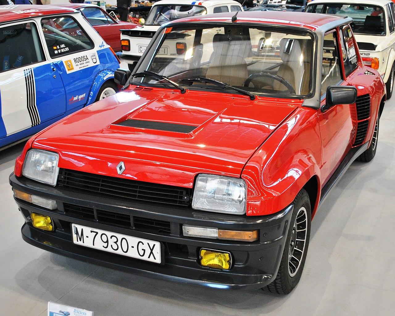 file v retro auto u0026moto galicia  r5 turbo 2  1985  1430 cc 160 cv jpg