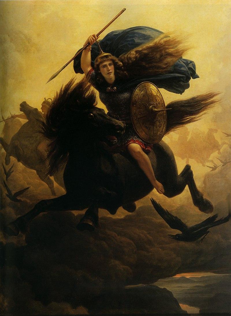 Walkiria - boginie mitologii nordyckiej