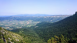 Orduña-Urduña - View of the valley of Orduña