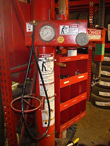 How To Tire Size >> Tire changer - Wikipedia