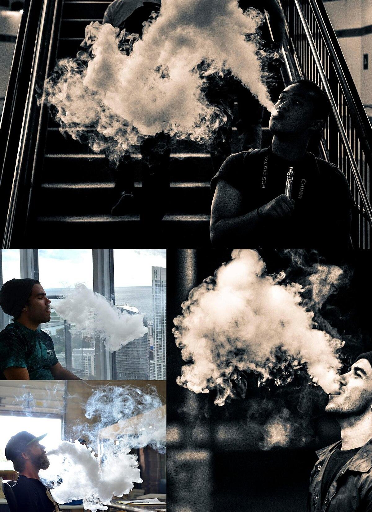 Cloud-chasing (electronic cigarette) - Wikipedia