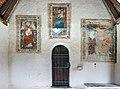 Velden Oberjeserz Filialkirche hl. Michael Vorhalle gotische Wandbilder 11052020 8949.jpg