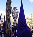 Venerable Hermandad del Santísimo Cristo de la Lanzada y María Santísima de la Caridad, Granda, Semana Santa 2009 (13).JPG