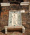 Venezia - SS. Giovanni e Paolo - Facciata - 16 - Angelo (sec. XIII) - Foto Giovanni Dall'Orto, 30-Sept-2007.jpg