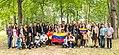Venezolanos in Bois de Boulogne Park, Québec, Cánada.jpg