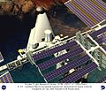VentureStar by Lockheed Martin Docked with Space Station - Computer Graphic DVIDS715882.jpg