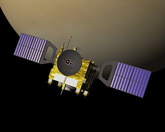 Venus Express - Venus Express in orbit