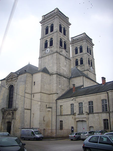 Our Lady cathedral of Verdun (Meuse, France)