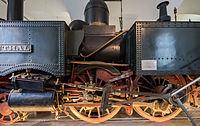 Verkehrsmuseum Dresden Güterzug - Tenderlok Muldenthal Treibradsatz mit Dampfzylinder VI.jpg