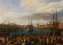 Rivalit des ports fran ais au xviiie si cle wikip dia - Le port de bordeaux par joseph vernet ...