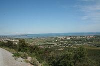 Vic-la-Gardiole vu depuis la Gardiole.JPG