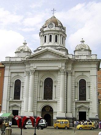 Stella Araneta - The Metropolitan Cathedral of Saint Peter in Cali, Colombia, where Stella and Jorge Araneta celebrated their wedding in 1961.